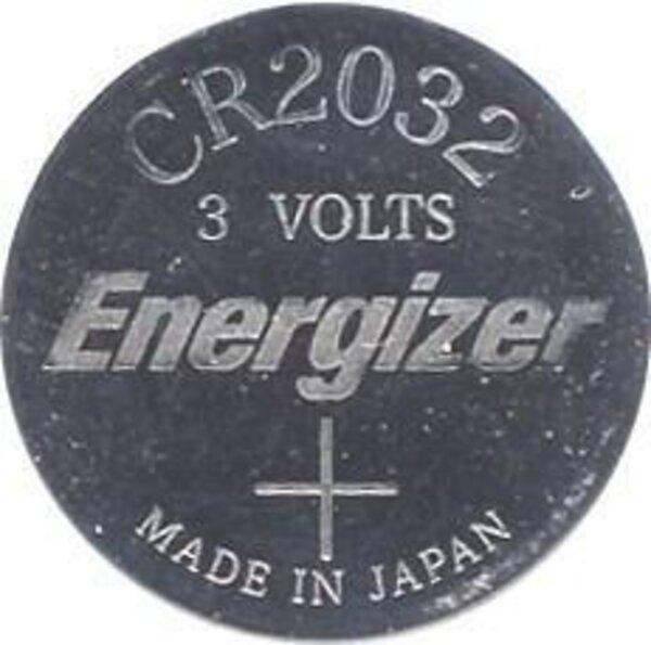 Energizer CR2032 Lithium Battery- Single