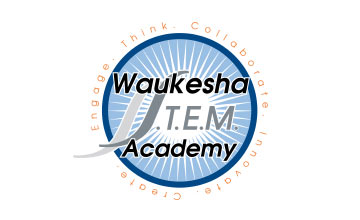 Waukesha S.T.E.M. Academy logo