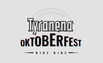 Tyranena Oktoberfest Bike Ride logo