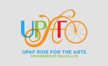 UPAF Ride For the Arts logo