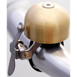 Crane Bell Co E-NE Bell Scotch Brite Brass