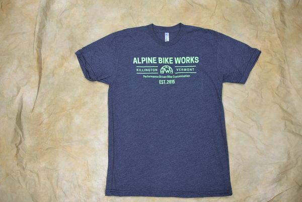 Alpine Bike Works Men's Logo T-Shirt