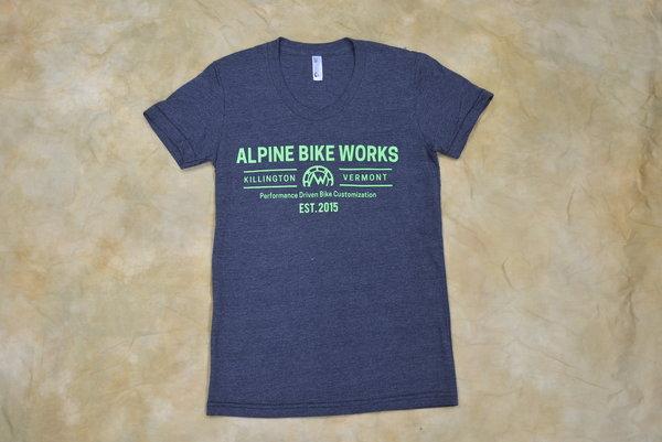 Alpine Bike Works Women's Logo T-Shirt