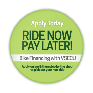VSECU offers financing that can be used to buy a bike