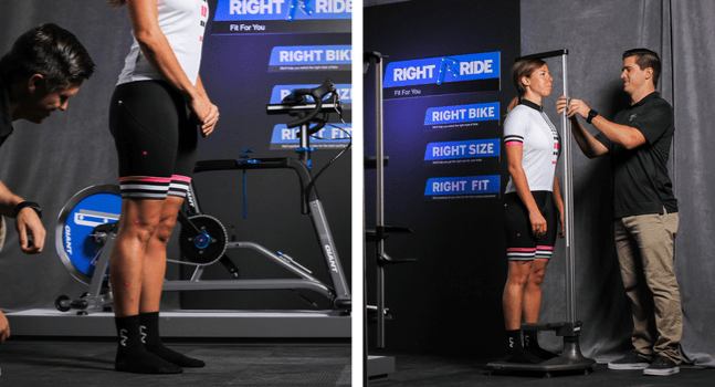 Rider and Fit Specialist finding the Right Size