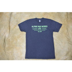 Alpine Bike Works Men's Logo T-Shirt
