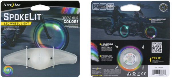 Nite Ize SpokeLit Wheel Light - Disc-O Select