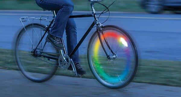 Nite Ize SpokeLit Rechargeable Wheel Light - Disc-O Select