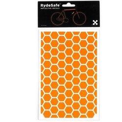 RydeSafe Hexagon Reflective Decals Kit