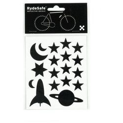 RydeSafe Outer Space Kit Reflective Stickers