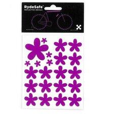 RydeSafe Flowers Reflective Decals Kit