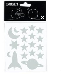 RydeSafe Outer Space Reflective Decals Kit