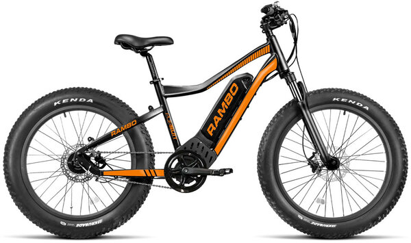 Rambo Pursuit 750W Black/Orange