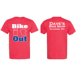 Store-Branded #BikeItOut Tee Shirt