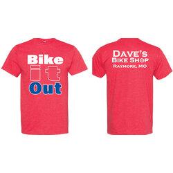 Store-Branded #BikeItOut Tee Shirt