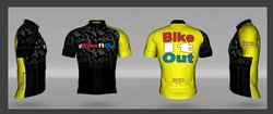 Store-Branded #BikeItOut Jersey - Road