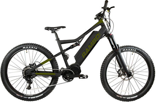 Rambo Fat Tire RAMPAGE 1000W XTREME PERFORMANCE FULL SUSPENSION