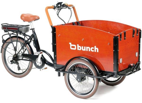 Bunch Cargo Original: Electric Family Cargo Bike 2021