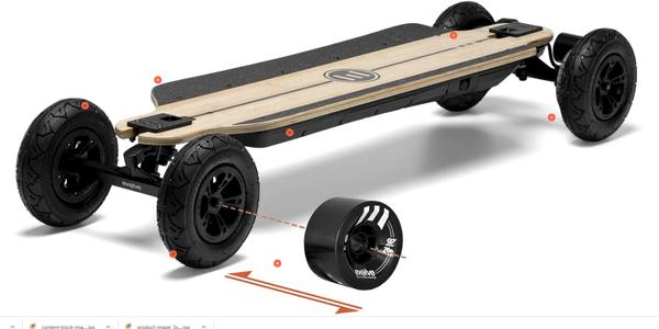 Evolve Skateboards Bamboo GTR Series