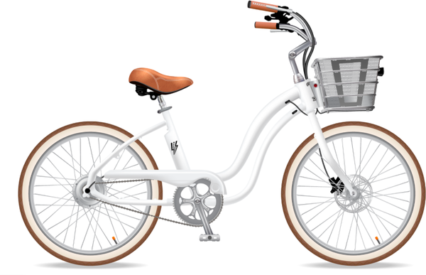Electric Bike Company Model Y (Step-Thru) Battery in Basket
