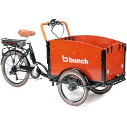 Bunch Cargo Original: Electric Family Cargo Bike