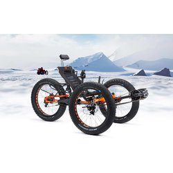 Ice Trikes Full Fat FS 26 Ultimate STEPS8000/ROHLOFF (ELECTRIC)