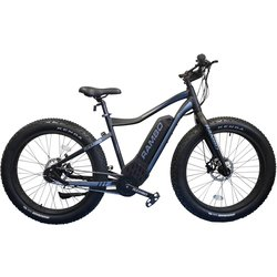 Rambo Fat Tire PURSUIT 750W 26 MATTE BLACK AND CHARCOAL