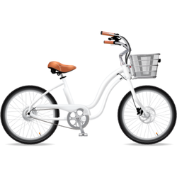 Electric Bike Company Model M (Mini) Battery in Basket - 24