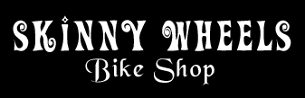 Skinny Wheels Bike Shop Logo - HOME