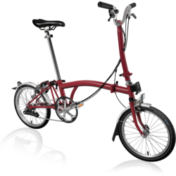 Brompton H6L Home Red