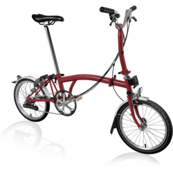 Brompton M6L Home Red