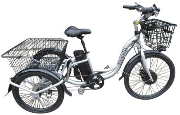 Bintelli Bicycles Trio