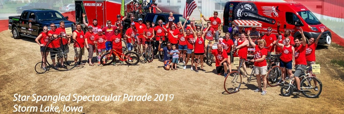 Star Spangled Spectacular Parade 2019 - Lakeshore Cyclery