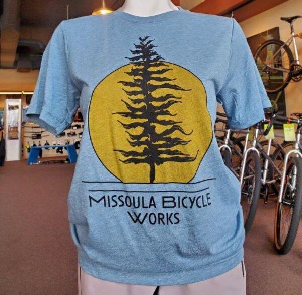 Missoula Bicycle Works MBW Sunset T-Shirt