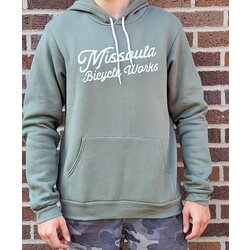 Missoula Bicycle Works MBW Custom Script Hoodie