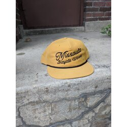 Missoula Bicycle Works MBW Canvas Snapback