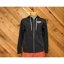 Missoula Bicycle Works MBW Custom X Zipper Hoodie Dark Blue