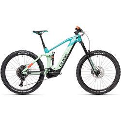 CUBE Bikes Cube Stereo Hybrid 160 HPC SL 625 Kiox 27.5 pacific 'n' red Pacific 'n' red 27.5 L20
