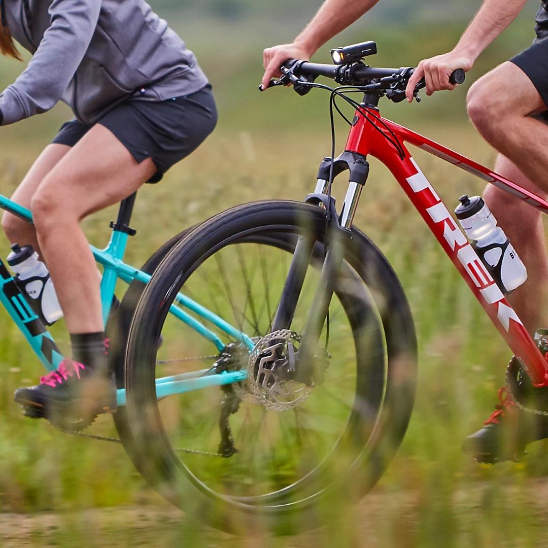 moutain-bike ride