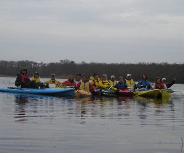 kayak/paddleboard tours