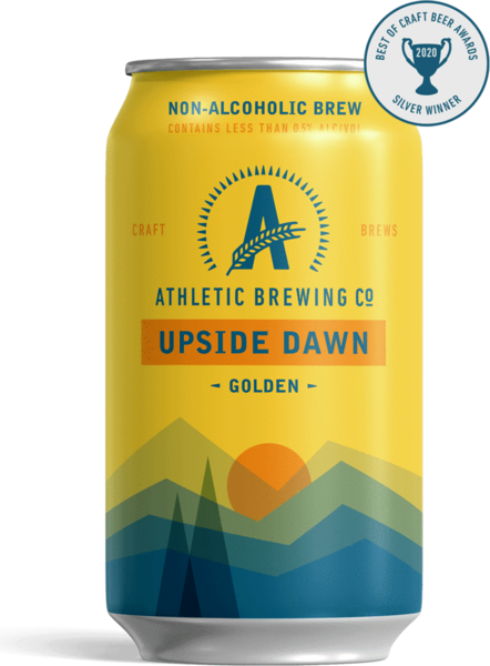 ATHLETIC BREWING CO. Upside Dawn Golden Ale