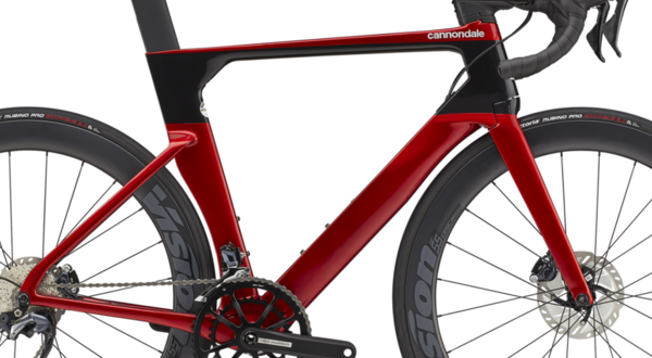 Cannondale SystemSix Disc Frameset Red