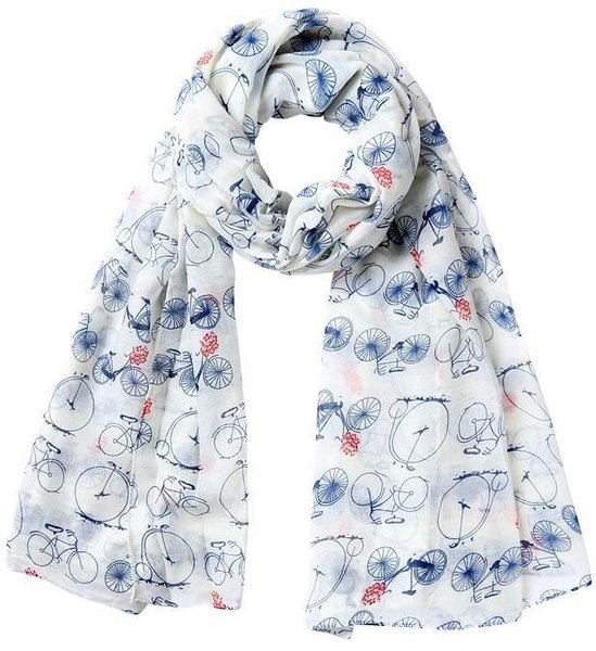 CycleChicks Bicycle Print Scarf