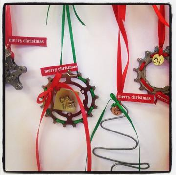 Homemade ornaments 3 for $25.00