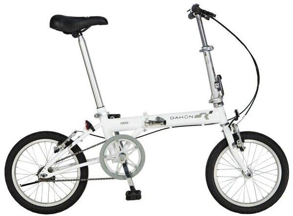 "Dahon Dahon Pop Uno 16"" Folding Bike, Frost"