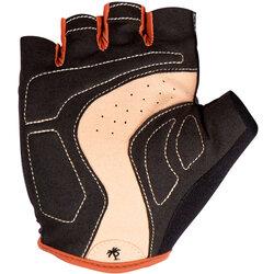 Pedal Palms Black N Tan Gloves - Black/Tan, Short Finger