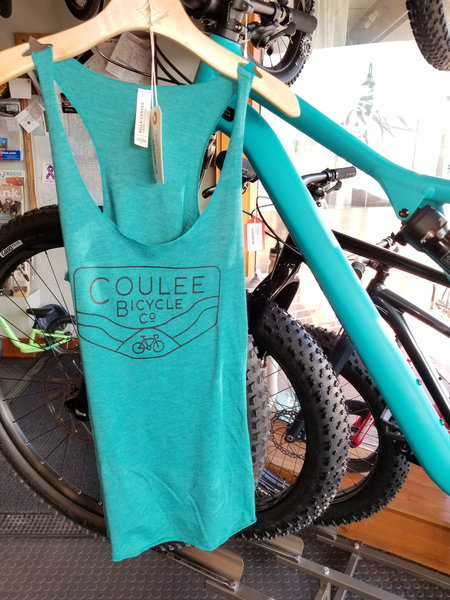Coulee Bicycle Co CBC Teal Women's Tank Top