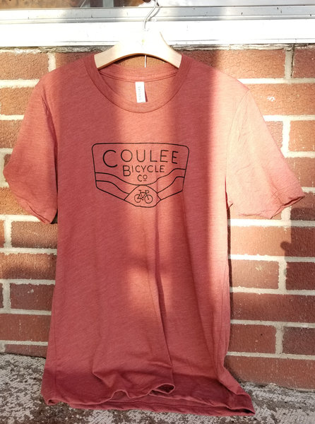 Coulee Bicycle Co CBC Tri-Blend Tee - Clay