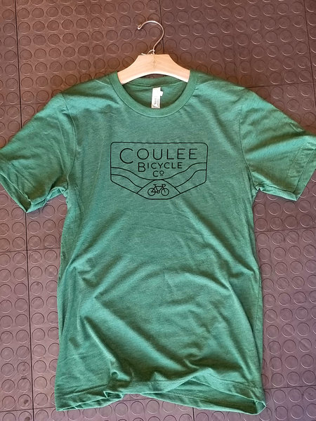Coulee Bicycle Co CBC Tri-Blend Tee - Grass Green