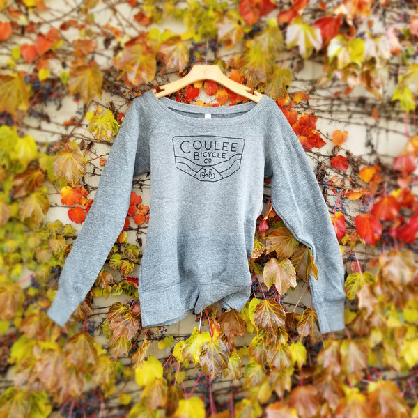 Coulee Bicycle Co CBC Women's Slouchy Sweatshirt